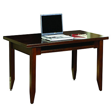 Tribeca Loft Cherry Compact Writing Desk, TLC490