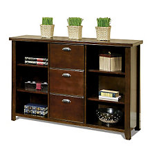 Tribeca Loft Cherry Bookcase File, MRN-TLC504