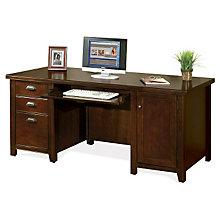 """Tribeca Loft Cherry Computer Desk - 32""""D, MRN-TLC685"""