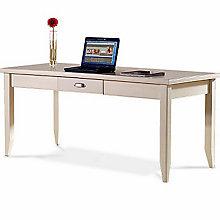 Tribeca Loft White Writing Table, MRN-IMTLW384