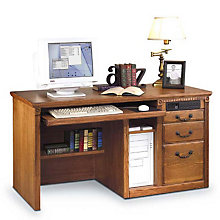 Wheat Oak Deluxe Computer Desk, MRT-HO540W