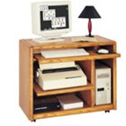 Medium Oak Mobile Computer Cart, MRT-OO110