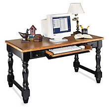 Southampton Onyx Writing/Laptop Desk with Keyboard, MRT-SO384