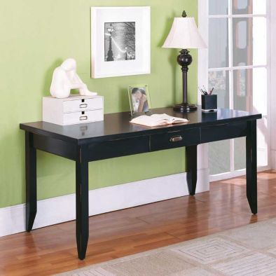 tribeca loft black laptop desk 64w by martin officefurniturecom black home office laptop desk