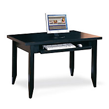 Tribeca Loft Black Compact Writing Desk, MRT-TL490