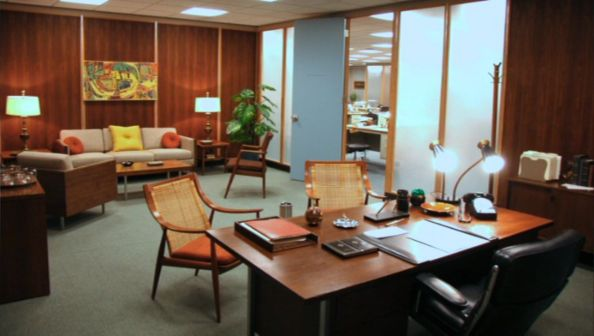 Don Draper's Office from Mad Men