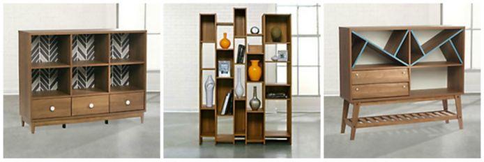 Mid-Century Modern Storage Cabinets