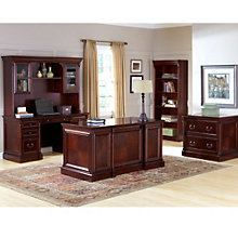 Kathy Ireland Mount View Complete Executive Office Set, 8804551