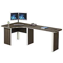"Metropolitan Corner Desk with Returns - 94""W, 8804997"