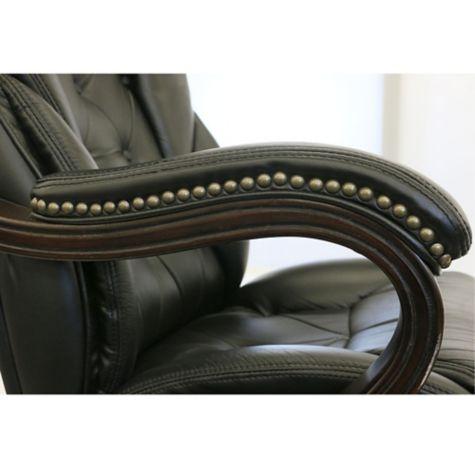 Kingston Big Amp Tall Leather Executive Chair