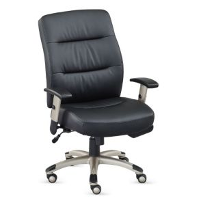 Heated Seat and Back Task Chair in Leather