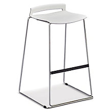 Stacking Stool with Chrome Frame, 8804825