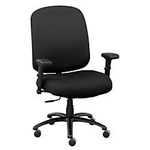 Big & Tall Chair with Arms in Fabric, 8803169