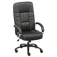 Big and Tall Chair in Leather, 8803167