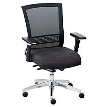 Ergonomic Chair with  Fabric Seat and Mesh Back, 8804279