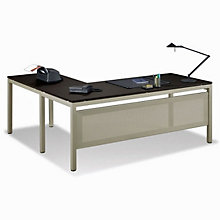 "At Work Reversible Executive L-Desk - 72"" x 78"", OFG-LD1211"