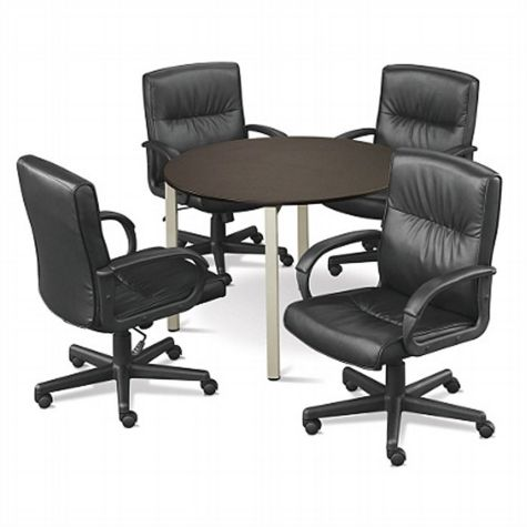 "At Work 42"" Round Conference Table by NBF"