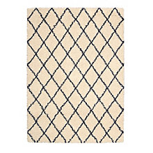 Small Diamond Print Area Rug 5'W x 7'D, 8803842