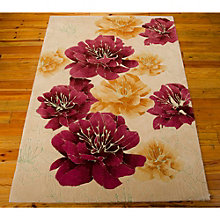 kathy ireland by Nourison Floral Area Rug 5'W x 7.5'D, 8803825
