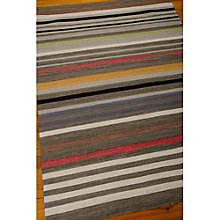 kathy ireland by Nourison Multicolor Stripe Area Rug 8'W x 10.5'D, 8803827
