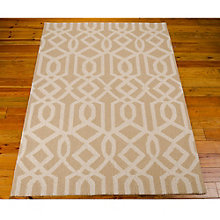 Linear Print Area Rug 8'W x 11'D, 8803849