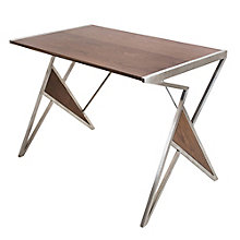 "Tetra Wood Top Writing Desk - 41.75""W, 8804932"