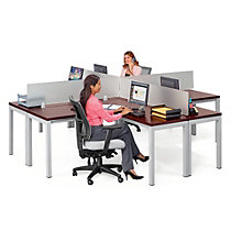"Four Person Workstation - 120""W, 8804985"
