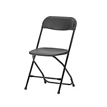 Valuemax Metal Frame Plastic Folding Chair , 8802433