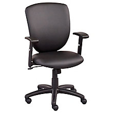 Network Faux Leather Task Chair, 8804266