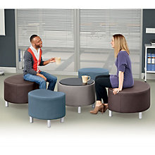 Large Seating Group in Faux Leather, 8804272