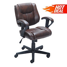 Limited Time Sale! - Task Chair in Faux Leather, 8801832