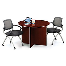 "42"" Round Conference Table and Chair Set, 8804666"