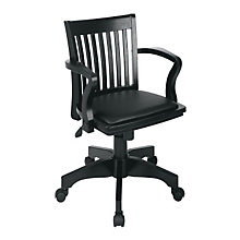 Padded Seat Bankers Chair, OFF-10227