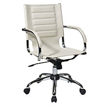 Trinidad Modern Task Chair in Vinyl, OFF-10942