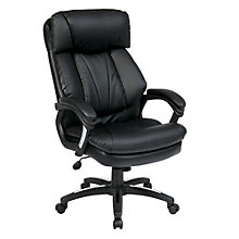 WorkSmart Oversized Computer Chair in Faux Leather, OFF-10946