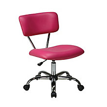 Vista Armless Office Chair in Vinyl, OFF-11141
