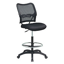 Mesh Back Armless Drafting Stool, OFF-13-37N20D