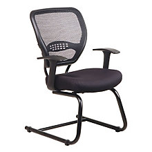 Black Guest Chair with Air Grid Back, OFS-5505