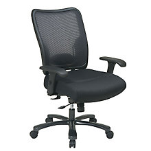 Big and Tall Air Grid Mesh Back Ergonomic Computer Chair, OFF-75-37A773