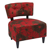 Boulevard Armless Reading Chair in Fabric, 8801767