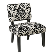 Jasmine Armless Accent Chair in Fabric, 8801770