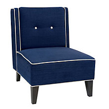 Marina Armless Reading Chair in Fabric, 8801772