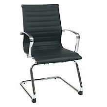 Guest Chair in Faux Leather, 8802384