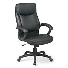 Bonded Leather High Back Executive Chair, 8802817