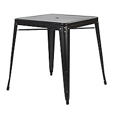 "Bristow Metal Table with Umbrella Hole - 31""W x 29""D, 8803129"
