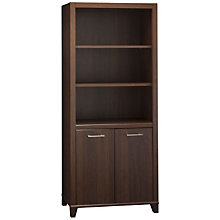 Achieve Five Shelf Bookcase with Doors, OFG-BC0200