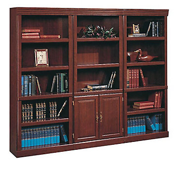 Heritage Hill 15 Shelf Bookcase Set, SET