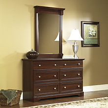 Palladia Six Drawer Dresser with Mirror, OFG-BR0040