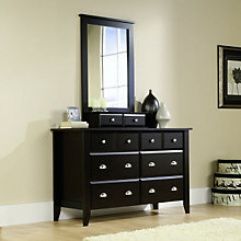 Shoal Creek Six Drawer Dresser with Mirror, OFG-BR0042
