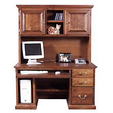 Traditional Computer Desk with Hutch, OFG-DH0062
